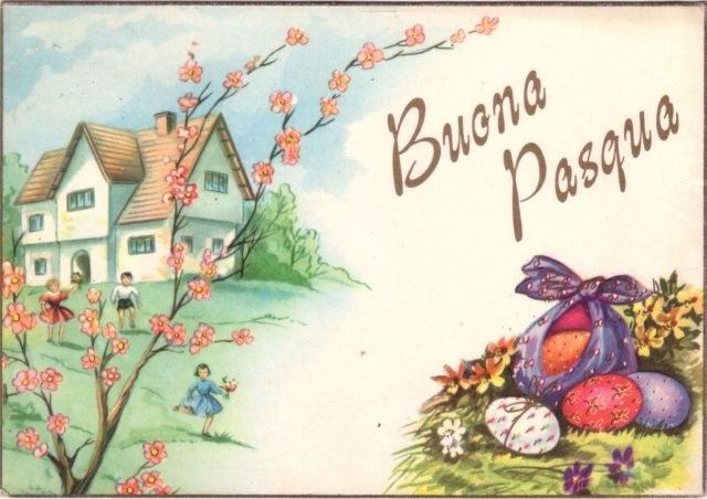 Buona pasqua cartoline gif card e wallpaper di auguri for Cartoline auguri di buona pasqua